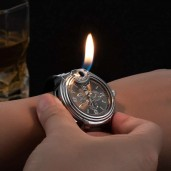 Military Lighter Watches for Men