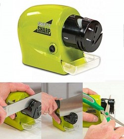 Swifty Sharp Motorized Knife Sharpener - Green