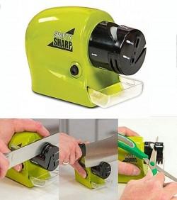 Swifty Sharp Motorized Knife Sharpener - Green