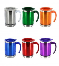 Stainless Steel Flux Mug - Multicolor