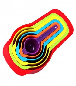 Rainbow Measuring Cup Set - Multi Color