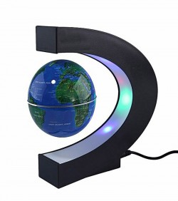 C Shape Electronic Magnetic Globe
