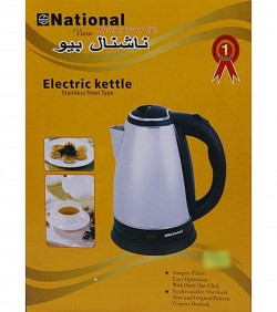 Electric Kettle 1.5L - White and Black