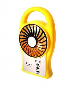 Portable Mini Fan with LED Light -N/A