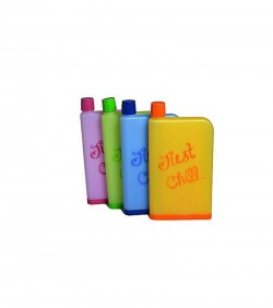 Notebook Water Bottle 420ml Fiber Cover