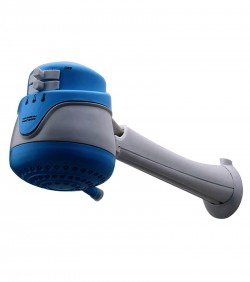 Instant Hot Water Shower Heater and pipe-Blue