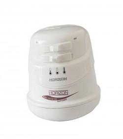 Instant Hot Water Shower only Head Heater - White