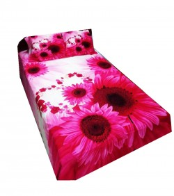 Double Size Cotton Bed Sheet Set