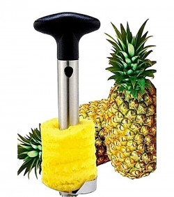 Pineapple Slicer and Peeler - Black and Silver