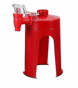 Fizz Saver Soda Drinks Dispenser - Red