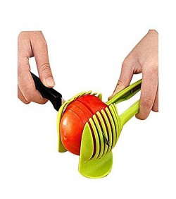 Tomato Cutter Clip - Lime Green