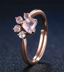 Rose Gold Romantic Finger Ring-1071
