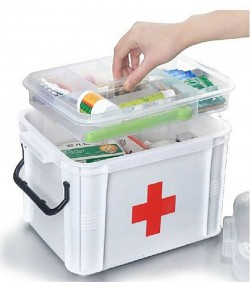 Ongmics Medicines Storage Box First Aid Box 40 X