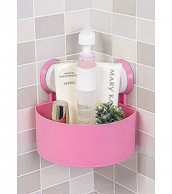 Bathroom Shelves pink