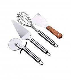 Combo of Baking Tools Set - Silver