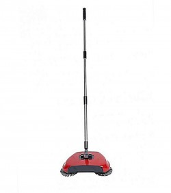 Professional Vacuum Cleaner Sweeping Robot without Electricity - Red