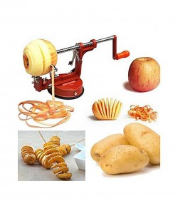 Potato Peeler Corer and Spiral Slicer