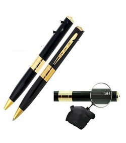 32GB Spy Camera with Pen drive - Black and Golden