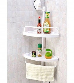 High Quality 2 Pieces set Bathroom Shelves