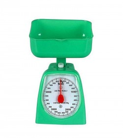 Analog Kitchen Weighing Scale 5 KG - Green