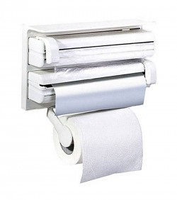 Tripple Paper Dispenser - White