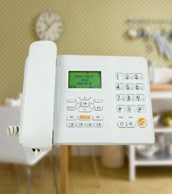 Gsm Desk Phone set Sim Supported