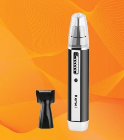 Kemei 2 in 1 Rechargeable Shaver & Nose Trimmer - KM6632