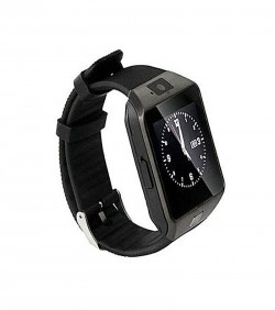 Single Sim Smartwatch - Black