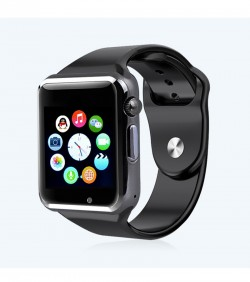 Apple Smart watch with Camera - Black-Copy