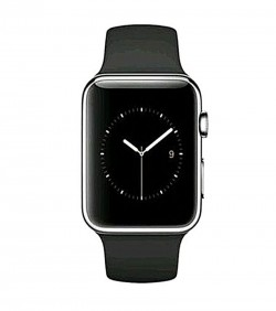 Smart Single Sim Sports Watch - Black