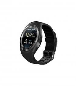 Sim Supported Mobile Watch - Black