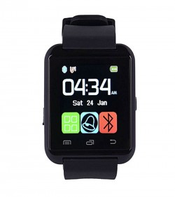 Beauty Bazar Beauty Bazar Smart Gear and Bluetooth Watch - Black