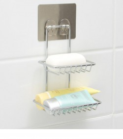 Double Layer Hanging Soap Holder