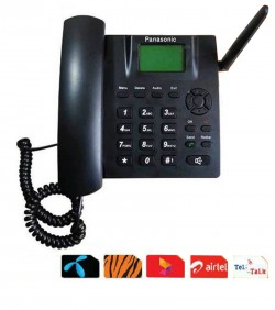 Landline Telephone Set - Black