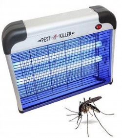 Mosquito and Pest killer 12w - Silver and Black