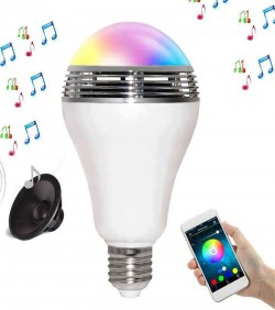 Speaker bluetooth E27 LED RGB Light Music Bulb - 3502