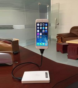 Flexible Metal USB Charging Cable & Mobile Stand - 3503