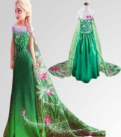 Queen Elsa Dress - 4525