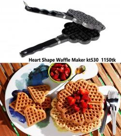 Heart Shape Waffle Maker kt530