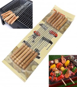 Barbq grill skewer 12 pcs