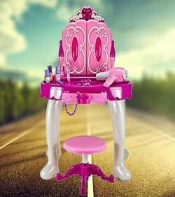 Baby Dressing Table with Cosmetics & Ornaments - 4517