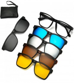 6 in 1 sunglasses night vision