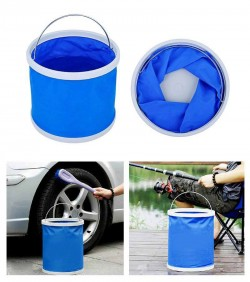 folding water & fishing bucket - 2621