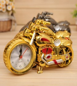Bike Shape Table Clock for Home & Office - 1645