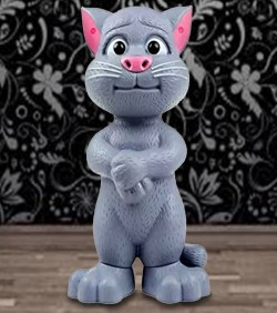 Talking Tom (Toy) Large Size with Baby Tom - 4511