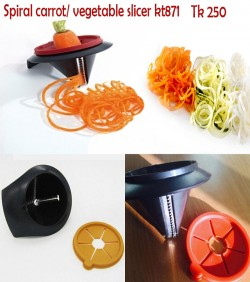 Spiral carrot/vegetable Slicer kt871