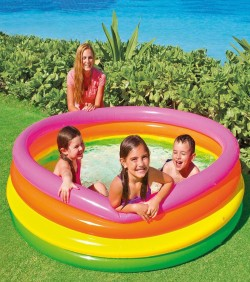 Baby Swimming Pool with Pumper - 4509
