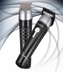 KEMEI Men Grooming Kit 10 In 1 Trimmer & Nose Trimmer Shaving Kit-KM1015