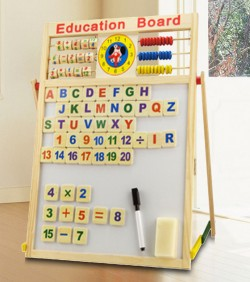 Baby Teaching Learning Aid Baby Toys Gifts Education Board - 4501