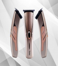 Kemei Electric Hair Trimmer & Clipper - KM5118